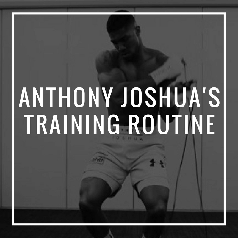 25814c4a Anthony Joshua's Training Routine and Diet Plan – Fortis